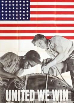 vintage poster, American War