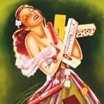 vintage poster, A.P.I. Voghera Cioccolato-Torrone