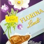 vintage poster, Florina Lindt by Ebner