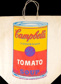 Warhol Tomato Soup Bag ICA