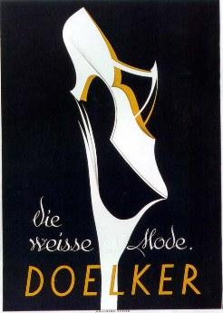 Baumberger, vintage Bally poster