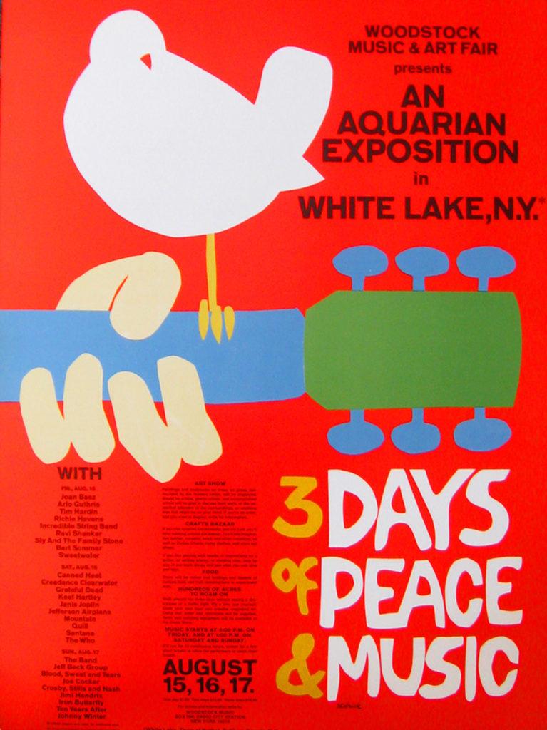 Woodstock, Arnold Skolnick, 1969