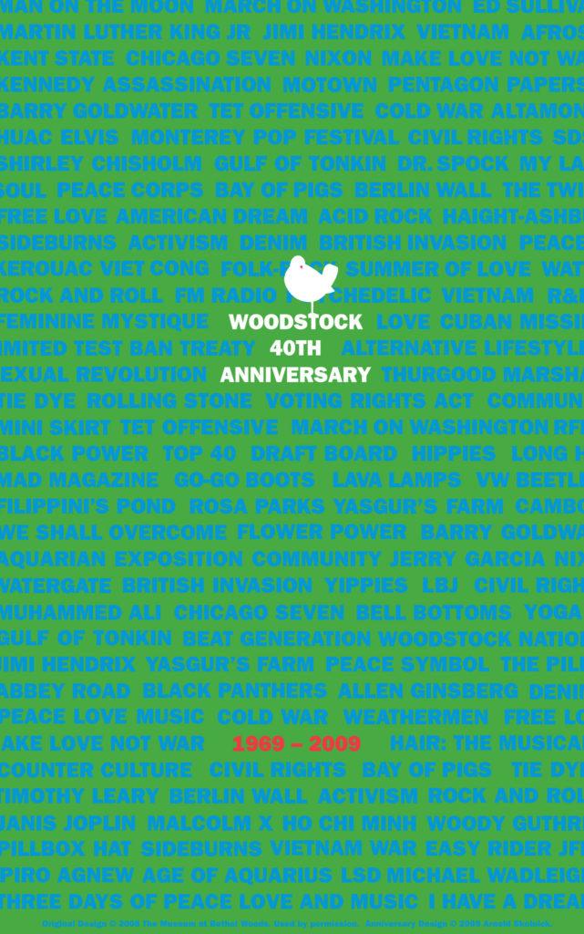 Skolnick, Woodstock Fortieth Anniversary 2009